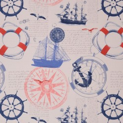 Ткань Symphony Of Colors Jules Verne